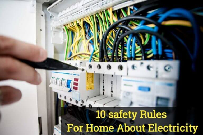 safety Rules For Home About Electricity
